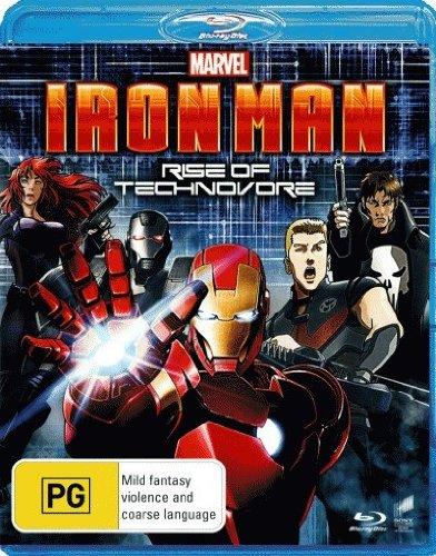 Iron Man Rise of Technovore [NON-USA Format, Region B [Blu-Ray] Import - Australia] [Marvel Animated]