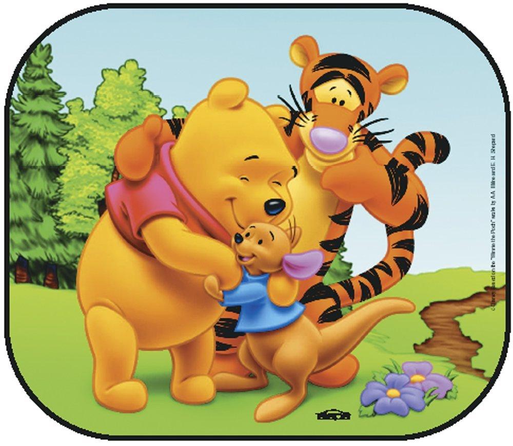 Winnie the Pooh Foldable Car Sunshades SIEPA FRANCE 13025