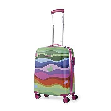 0f52e3f7aa8 AGATHA RUIZ DE LA PRADA - Trolley de cabina para mujer en ABS Olas ...