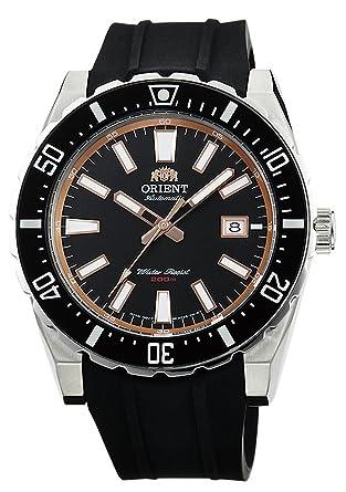 Orient buceo deportes reloj automático 200 M negro fac09003b: Amazon.es: Relojes