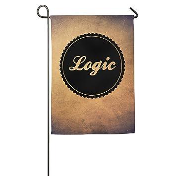 Sports Decorative Flags Logic Logo Rapper Garden Flag