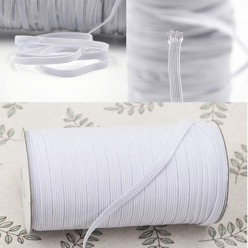 Cinta elástica para la oreja elástica de 15 m para coser ropa ...