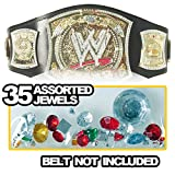 Figures Toy Company Replacement Jewels For Kid Size Spinning WWE Championship Replica Belt