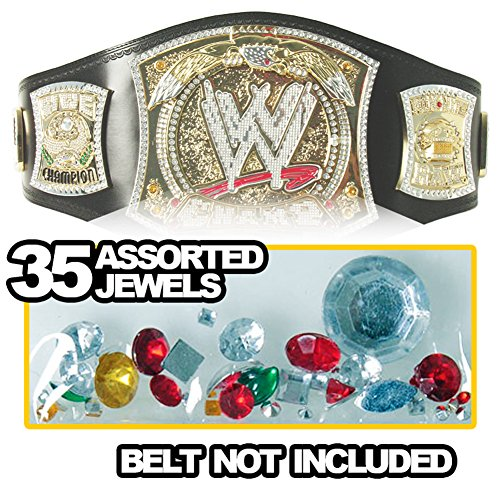 Figures Toy Company Replacement Jewels For Kid Size Spinning WWE Championship Replica Belt by Figures Toy Company