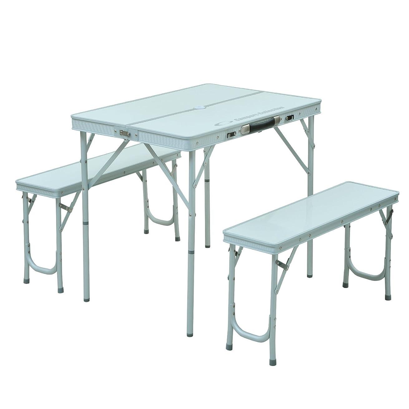 階段ぼかし検索キャプテンスタッグ テーブル グランツ DXアルミピクニックテーブル M-3724