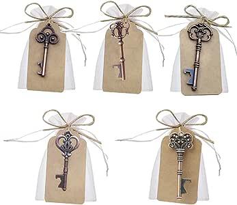 Llave abrebotellas para decoración de bolsas de recuerdos
