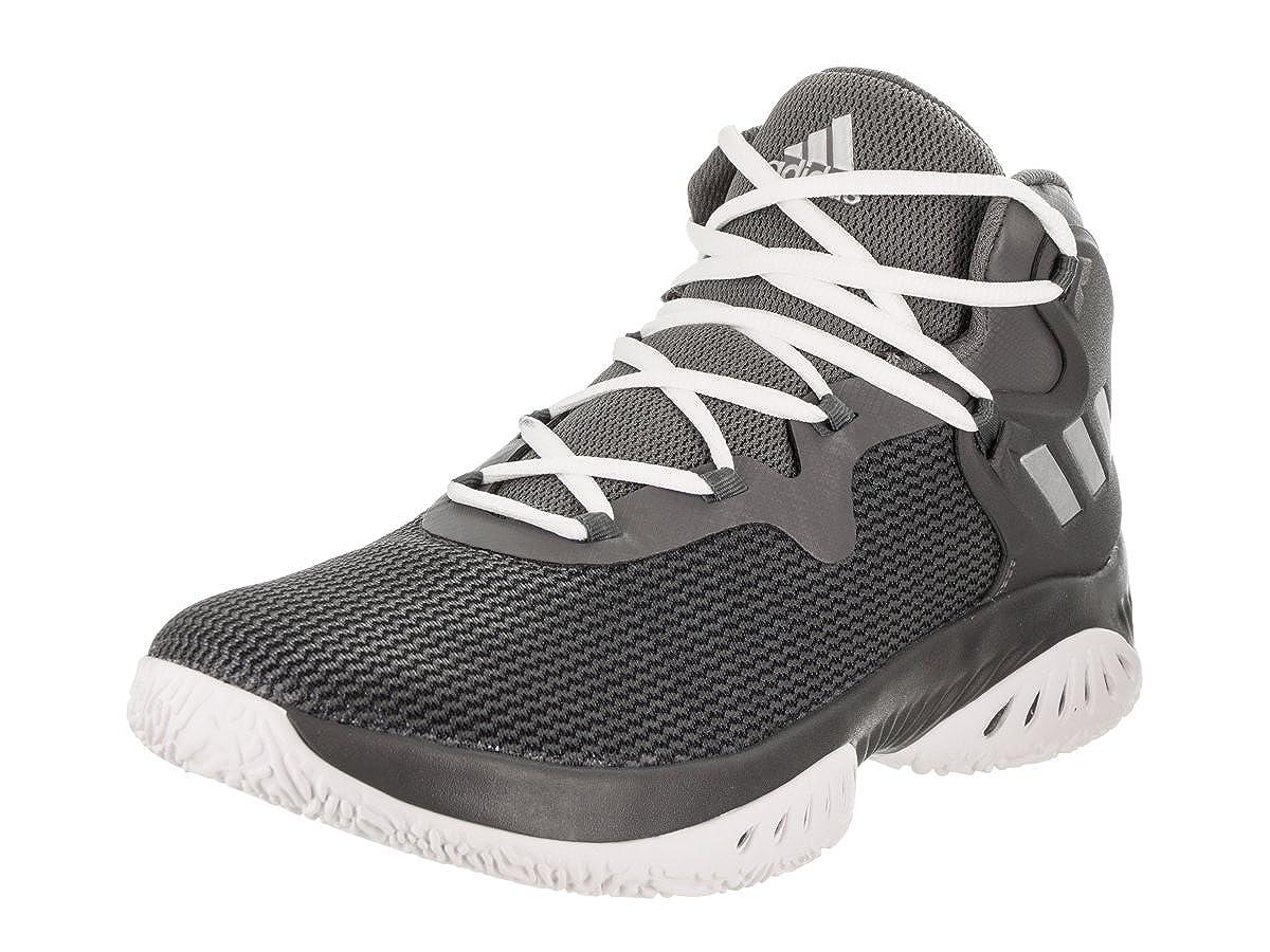 Core noir argent Metallic gris Five Adidas Explosive Bounce Chaussures Athlétiques 40.5 EU