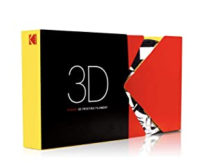 KODAK ABS Filament 2.85mm for 3D Printer, Gray, Dimensional Accuracy +/- 0.03mm, 750g Spool (1.7lbs), ABS Filament 2.85 used as 3D Printer Filament to refill most FDM Printers (Color: gray, Tamaño: 2.85 mm)