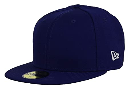 aa1d6a5e Amazon.com : New Era Blank 59Fifty Fitted Hat (Royal) : Sports ...