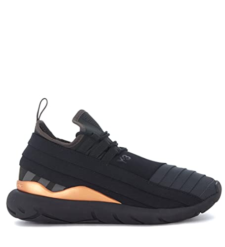 7d29378c4ad54 adidas Y-3 Qasa Elle Lace Trainers Black 7 UK  Amazon.co.uk  Shoes ...