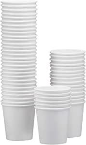 NYHI 150-Pack 12 oz. White Paper Disposable Cups – Hot/Cold Beverage Drinking Cup for Water, Juice, Coffee or Tea – Ideal for Water Coolers, Party, or Coffee On the Go'