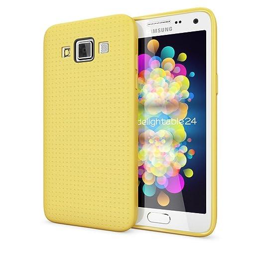 4 opinioni per Samsung Galaxy A5 2015 Cover Custodia Protezione di NICA, Punti Silicone Case
