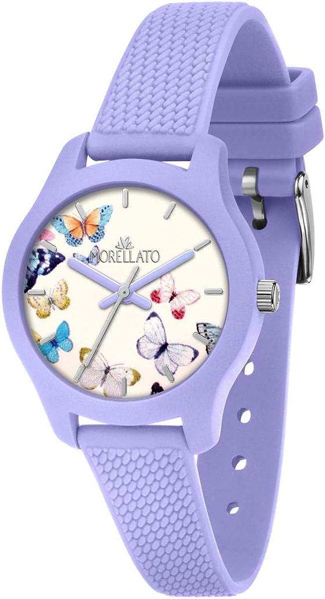 Morellato Reloj para Mujer, Colección Soft, en Poliuretano, Silicona, con Correa de Silicona - R0151163505