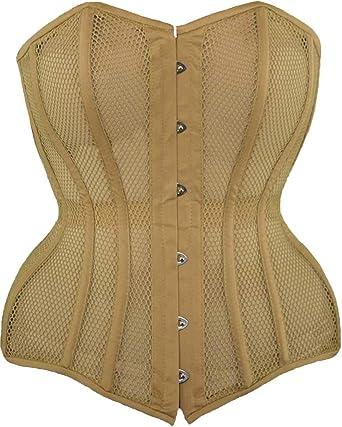 Orchard Corset CS-426 Standard Womens Mesh Underbust Steel Boned Waist Trainer Corset