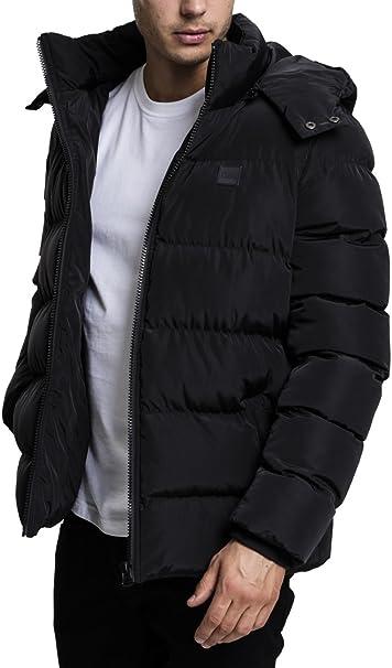 Urban Classics Hooded Puffer Jacket Chaqueta para Hombre