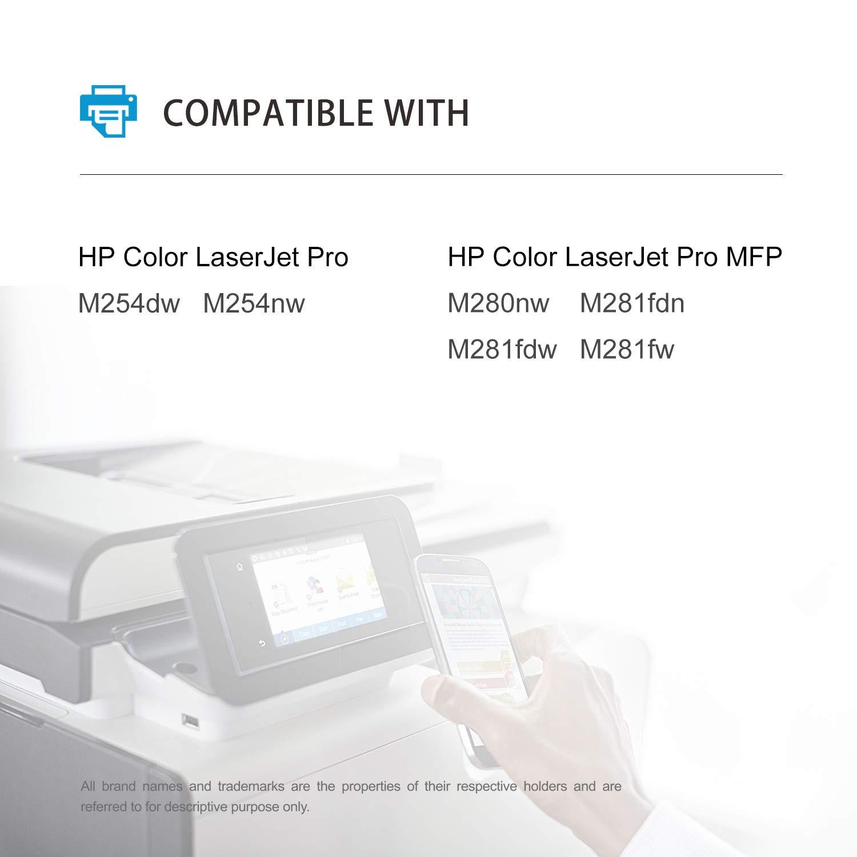 Mycartridge Compatible HP 203A CF540A: Amazon.es: Electrónica