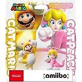 Nintendo amiibo twin pack Katzen-Mario and Katzen-Peach