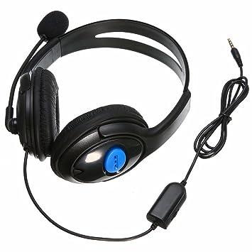 GAOHOU 3,5 mm estéreo Gaming Headset Auriculares + Micrófono para ...