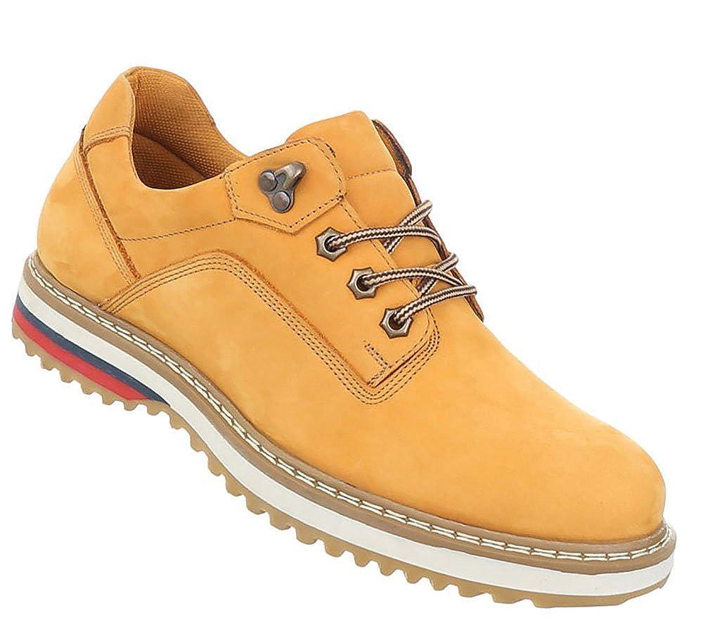 Herren Schuhe Trendy Halbschuhe Elegante Echtleder Schnürschuhe Trendy Schuhe Bequemschuh fb491f