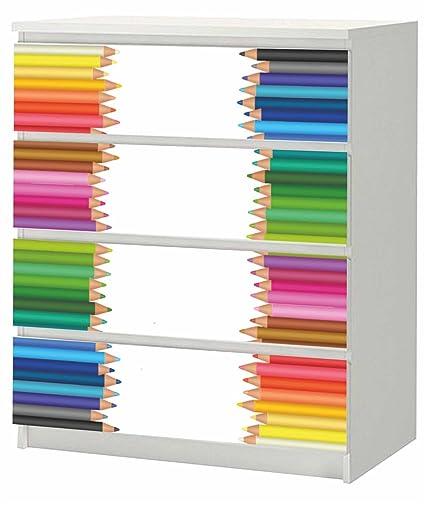 Adhesivo para IKEA Malm cajonera de madera con 80 x 100 cm ...