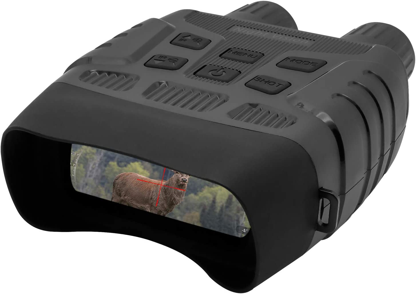 ZIMOCE Night Vision Goggles, Binoculars with Night Vision IR Sensor Portable can Take HD Image & Record 960P Videos from 984ft in 100% Darkness Waterproof Drop Resistant (32GB TF Card Included)