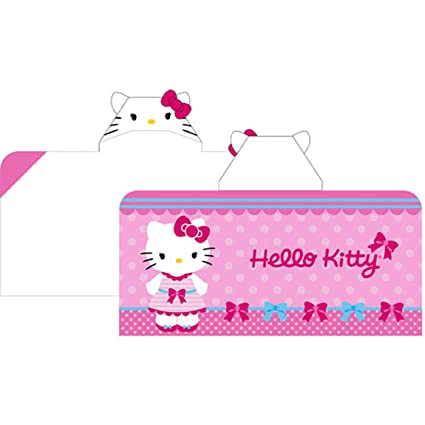 8a46c185c Image Unavailable. Image not available for. Color: Hello Kitty Hooded Towel  Wrap