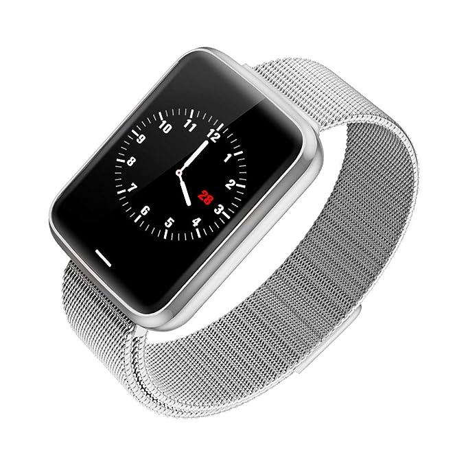 Chriffer Reloj Inteligente Smartwatch IP67 Impermeable Pulsera Inteligente para Deporte, Reloj Actividad Fitness Tracker para Hombres Mujeres y niños, ...