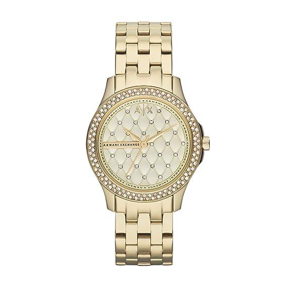 7c1daabd74 Armani Exchange AX5216 Hampton para Mujer, color Oro: Armani ...