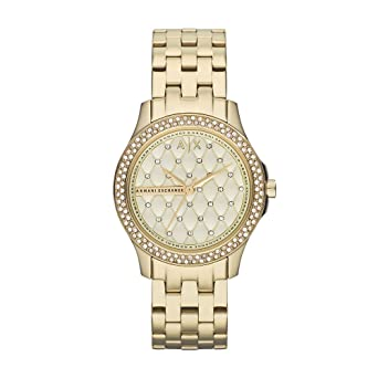d0ca1c12b6bb Armani Exchange Damen-Uhren AX5216  Amazon.de  Uhren