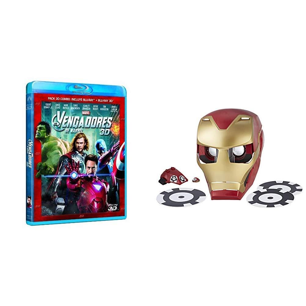 Los Vengadores 3D + Blu-ray + Marvel Avengers Hero Vision Iron Man ...