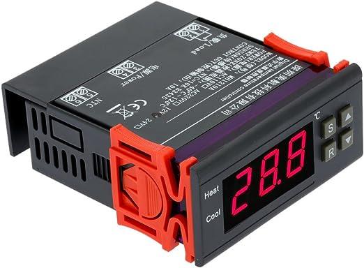 Imagen deAndoer - termorregulador digital, termocupla -40℃ a 120℃, con sensor, 10A, 12V