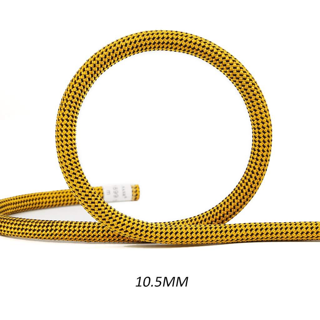 FLYSXP Corde d'Escalade Vitesse de Corde Statique Ligne de Vie 10 10.5 Mm Corde d'escalade (Taille   10.5MM 10M) 10.5MM 90M