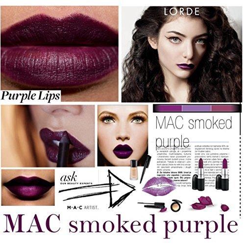 Populaire Amazon.com : MAC Matte Lipstick SMOKED PURPLE : Beauty WH28