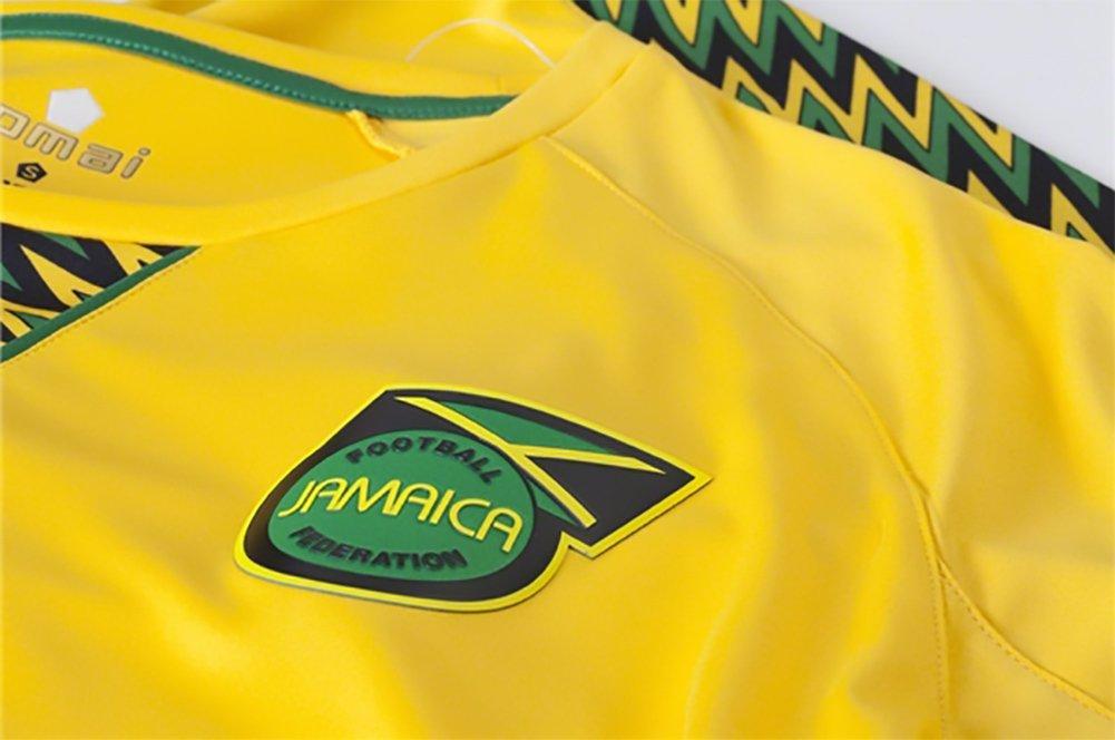 romai producto oficial de Jamaica 2015 Home Soccer Jersey: Amazon.es: Deportes y aire libre