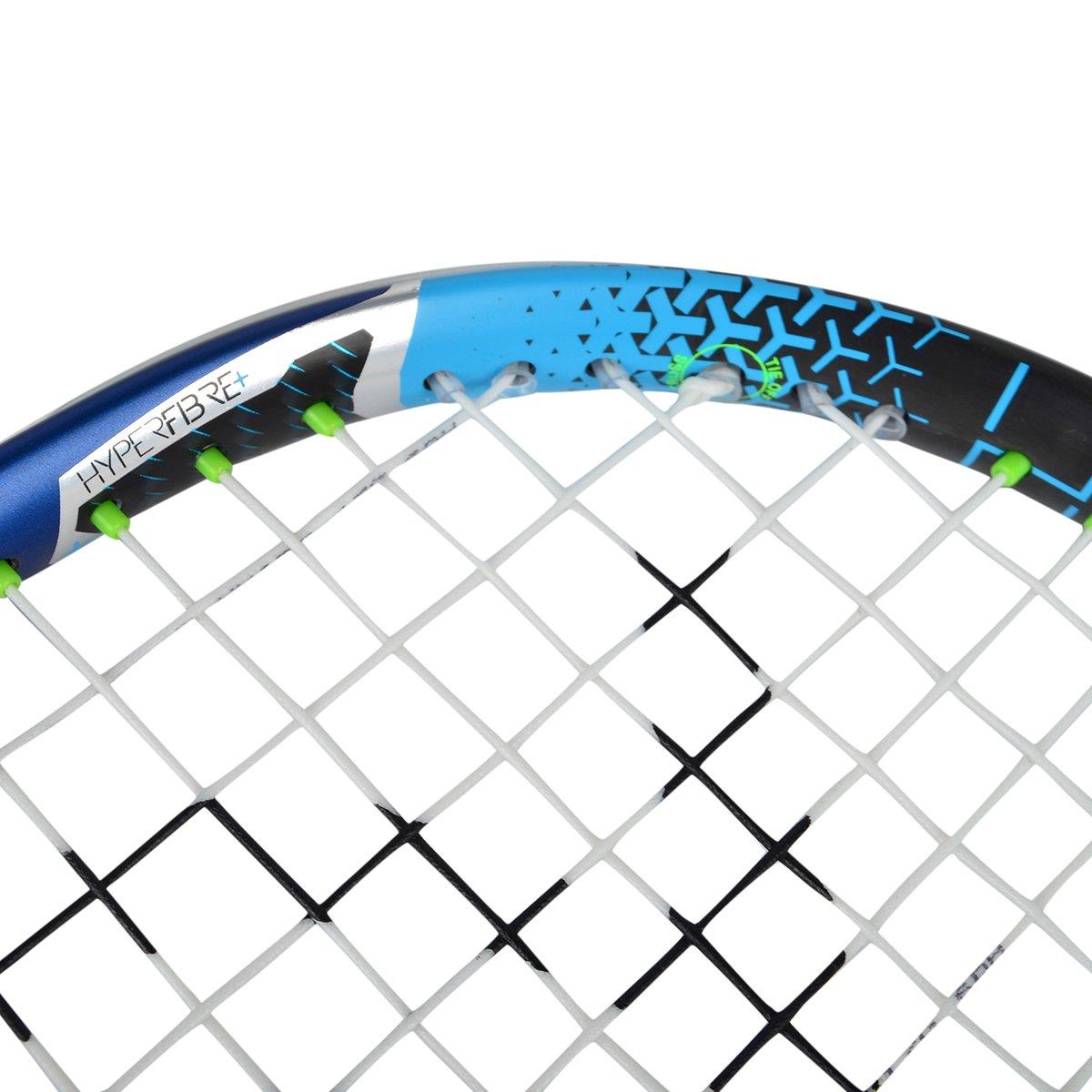 Dunlop 773252 Hyperfibre Plus Evolution Pro Nick Matthew Squashschl/äger Blau