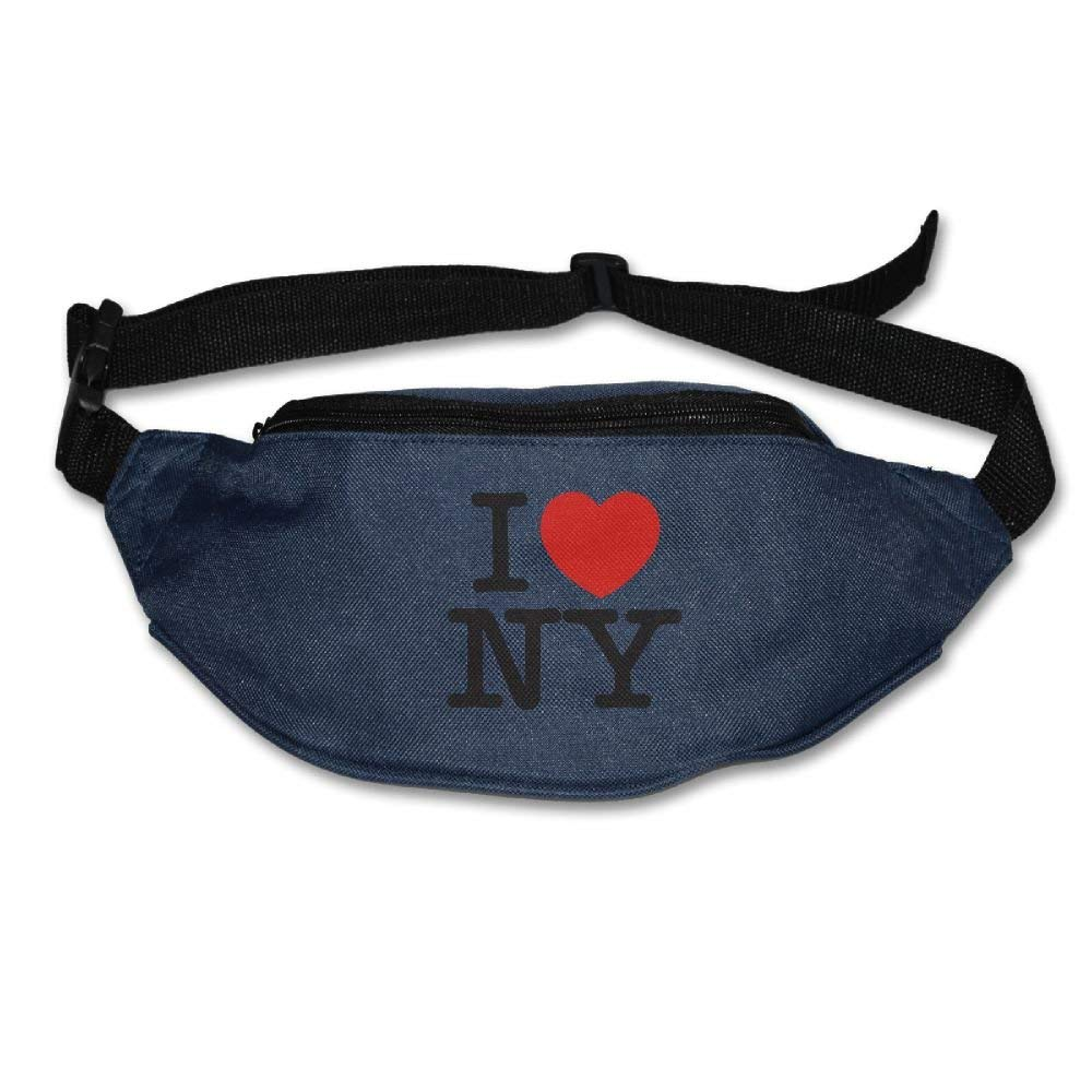 RuiKai New York City Running Waist Pack Bag Travel Sports Purse Pocket For Hiking