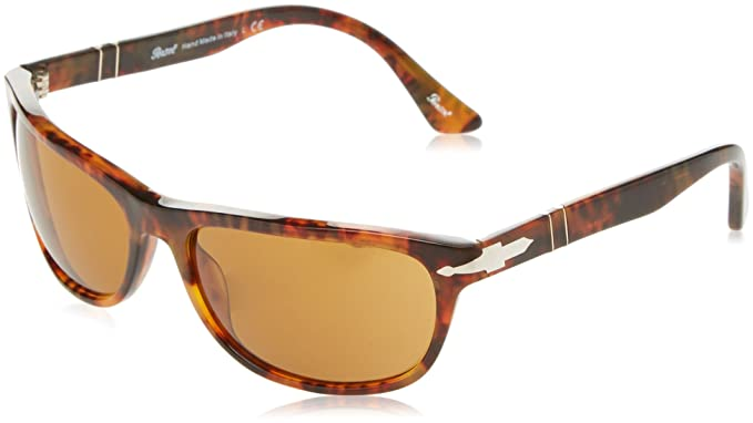 1db304dd1c020 Image Unavailable. Image not available for. Color  Persol P03156S 63mm  Sunglasses (Havana Brown Lens)