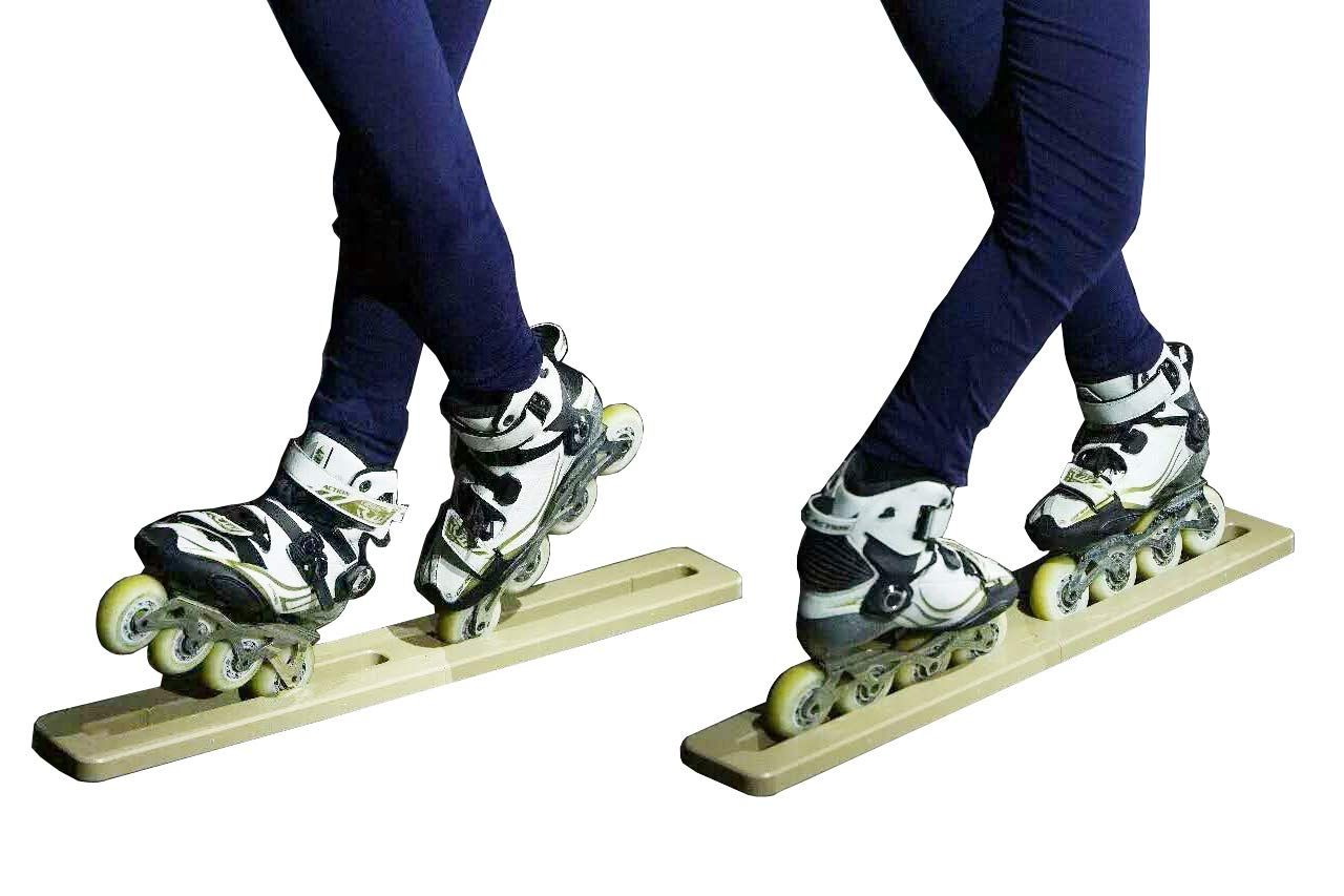 Cupidove Inline Skate Trainer -Stretching Leg Ligament Strengthen Muscle Memory,Help to Master Difficult Skills Quickly