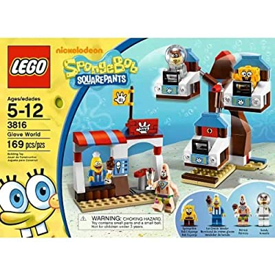 LEGO Spongebob Squarepants 3816: Glove World: Toys & Games [5Bkhe0503082]