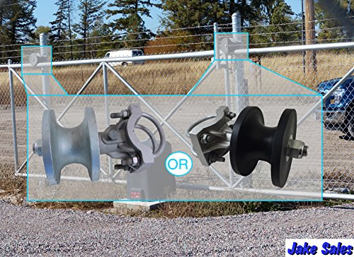 Rolling Cantilever Slide Gate Hardware Set, For 3'' post, Chain Link Fence Gate by Fence-material.com (Image #3)
