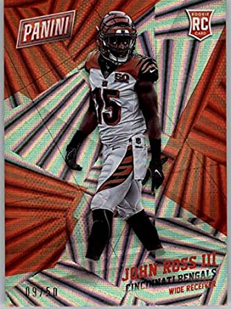 0217e84c Amazon.com: 2017 Panini Black Friday Wedges #75 John Ross III RC 9 ...