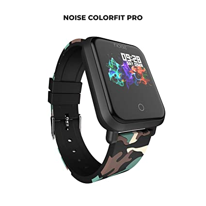 Noise ColorFit Pro Fitness Watch/Smart Watch/Activity Tracker/Fitness Band  with Colored Display Waterproof,Heart Rate Sensor, Call & Notification