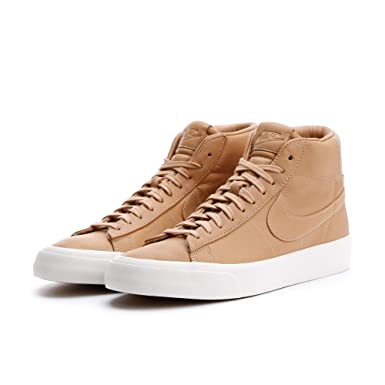 8b492678547 Amazon.com: NIKE NikeLab Blazer Studio Mid Leather Sneakers ...