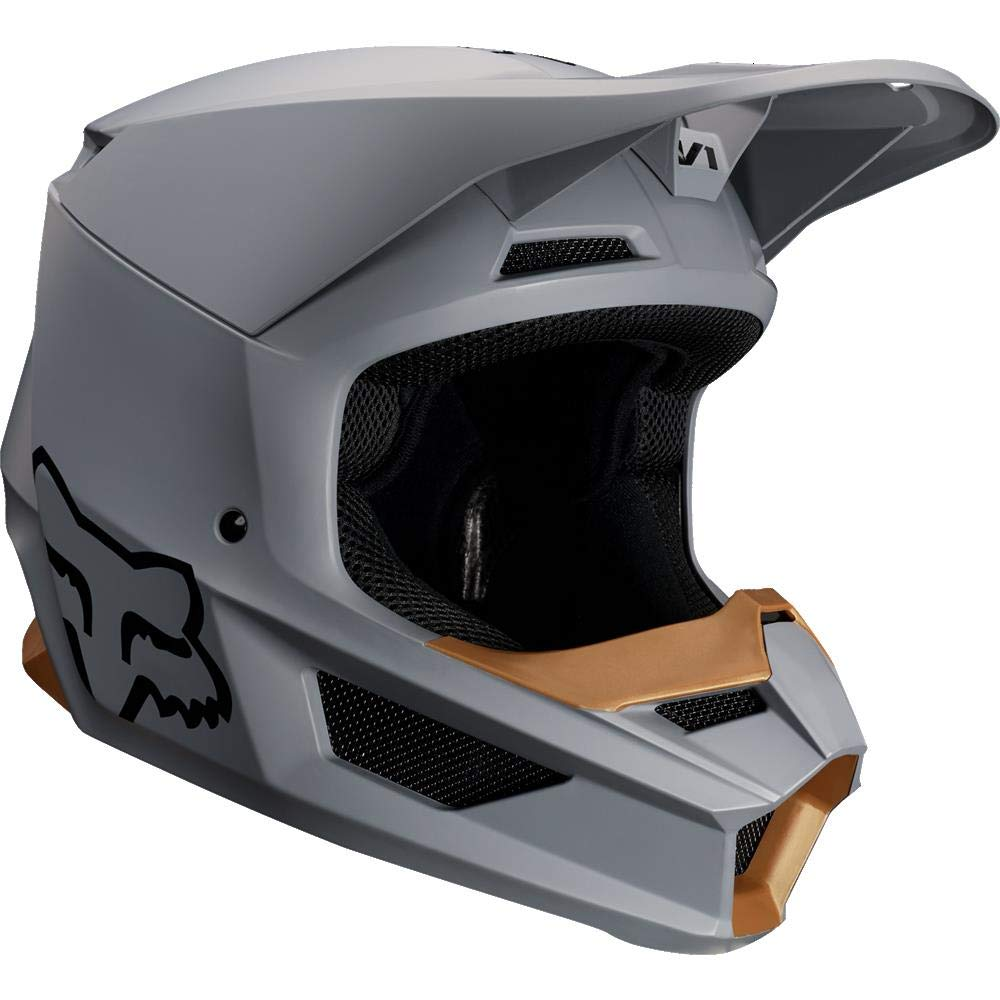 Amazon.com: 2019 Fox Racing V1 Matte Mens Off-Road Motorcycle Helmet - Stone/X-Large: Fox Racing: Automotive