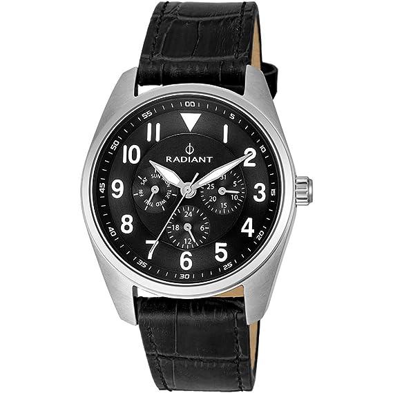 Reloj Radiant BROOKLYN RA454601 Hombre Negro Multifunción