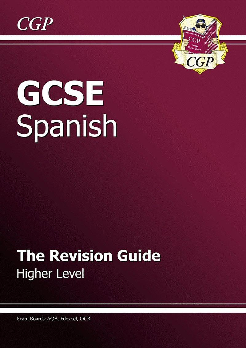 GCSE Spanish Workbook - Higher (A*-G course): Amazon.co.uk: Cgp ...