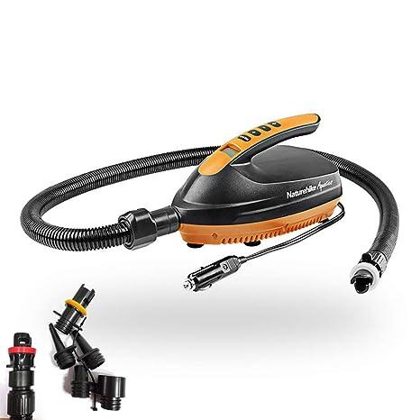 20PSI SUP Air Pump Smart 12V DC Electric Car Air Pump with 6 SUP Valve Adapter