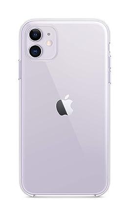 Amazon.com: Apple - Carcasa transparente para iPhone 11