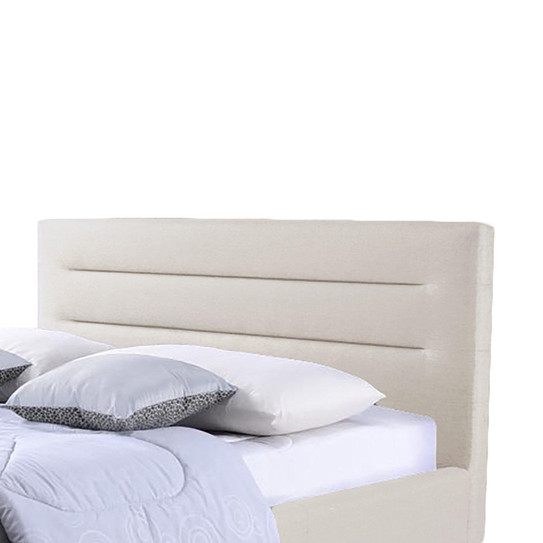 Amazoncom Baxton Studio Hillary Fabric Upholstered Platform Bed