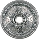 Arctel CM828-AN Antique Nickel Finished Ceiling Medallion 28 inches